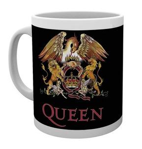 Queen 'Classic Crest' Boxed Mug