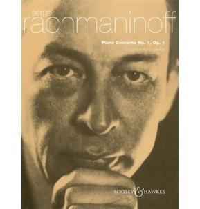 Rachmaninoff - Piano Concerto No. 1 in F# minor - 2 Piano Reductions