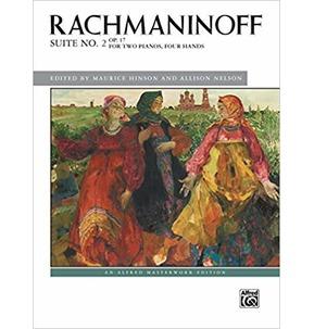 Rachmaninoff Suite 2 Op. 17 - 2 Piano, 4 Hands
