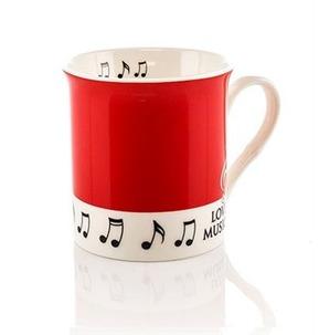 Colour Block Mug: Red
