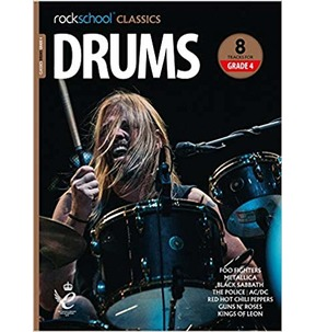 Rockschool Classics Drums: Tracks for Grade 4