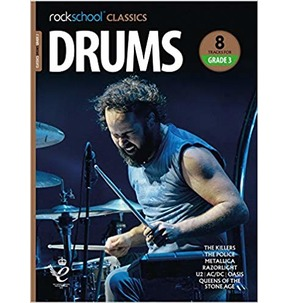 Rockschool Classics Drums: Tracks for Grade 3