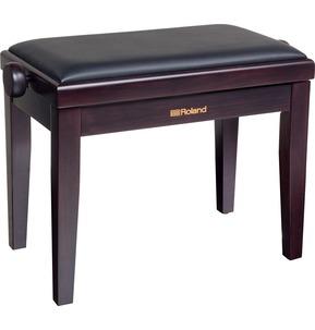 Roland RPB200 Rosewood Adjustable Piano Stool with Vinyl Seat