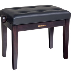Roland RPB300 Rosewood Adjustable Piano Stool with Button Top