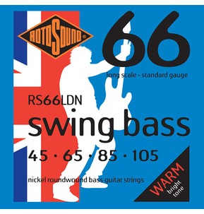 Rotosound RS66LDN Swing Bass Long Scale 45-105 Bass Guitar Strings