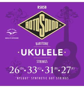 Rotosound Aquila RS85B Baritone Ukulele Nylgut Synthetic Gut Strings