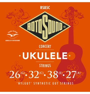 Rotosound Aquila RS85C Concert Ukulele Nylgut Synthetic Gut Strings