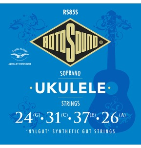 Rotosound Aquila RS85S Soprano Ukulele Nylgut Synthetic Gut Strings