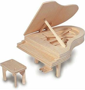 Quay Woodcraft Kit - Piano