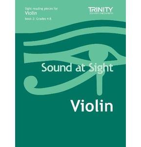 Sound At Sight: Violin Grades 4-8