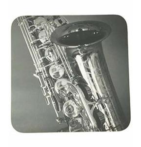 Saxophone Mugmats - Black and White