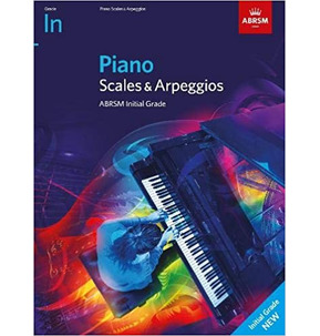 ABRSM Piano Scales & Arpeggios 2021+ Initial