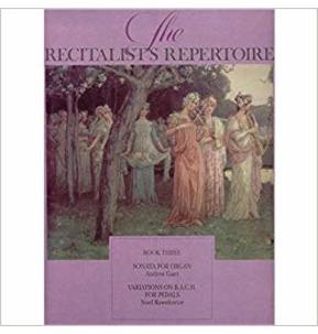 HALF PRICE - The Recitalist's Repertoire Book 3 - Organ