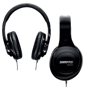 Shure SRH240A Professional Studio and Listening Headphones