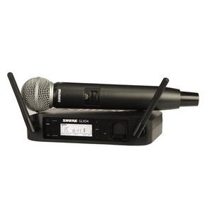 Shure GLXD24UK/SM58 Digital Wireless Microphone Kit - With Free SB902 Battery worth £48