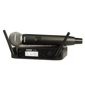 Shure GLXD24UK/SM58 Digital Wireless Microphone Kit - With Free SB902 Battery worth £48