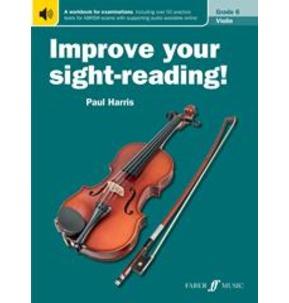 Improve Your Sight Reading Violin 2012 Grade 6