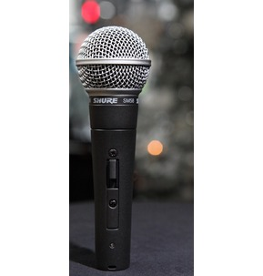 Shure SM58 Legendary Dynamic Vocal Microphone With Switch