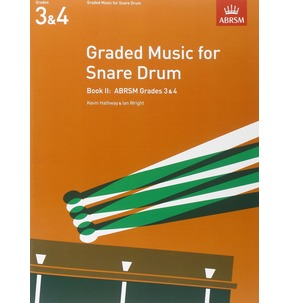 ABRSM Graded Music for Snare Drum, Book 2 - Grades 3 & 4