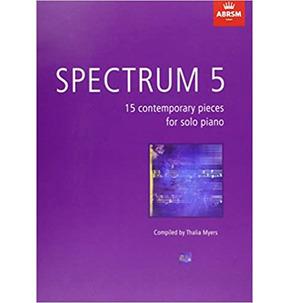 Spectrum 5: 15 Contemporary Pieces for Solo Piano