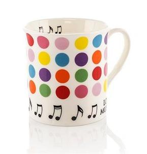 Colour Block Mug: Spots