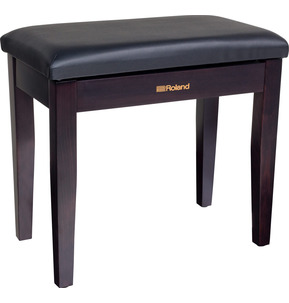 Roland RPB100 Rosewood Piano Stool with Vinyl Seat and Music Compartment
