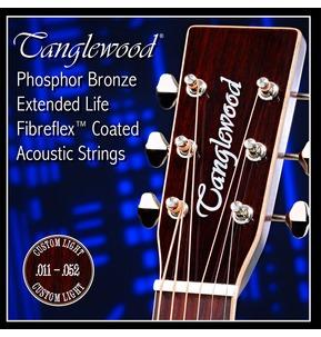Tanglewood TWGS 11 Phosphor Bronze Extended Life Acoustic Strings - Custom Light