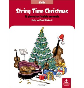 String Time Christmas - Violin Student Book