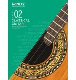 Trinity College London: Classical Guitar Examinations Grade 2 - 2020-23