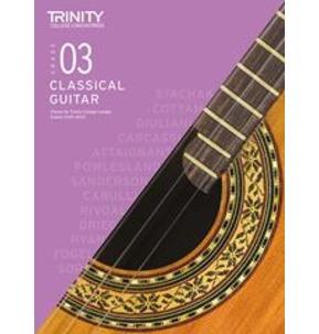 Trinity College London: Classical Guitar Examinations Grade 3 - 2020-23