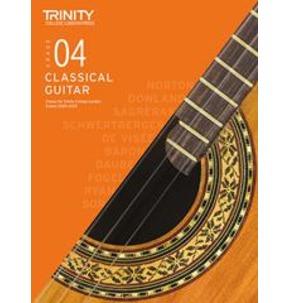 Trinity College London: Classical Guitar Examinations Grade 4 - 2020-23