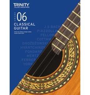 Trinity College London: Classical Guitar Examinations Grade 6 - 2020-23
