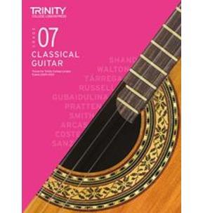Trinity College London: Classical Guitar Examinations Grade 7 - 2020-23