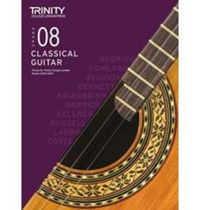 Trinity College London: Classical Guitar Examinations Grade 8 - 2020-23