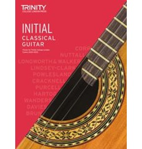 Trinity College London: Classical Guitar Examinations Initial - 2020-23