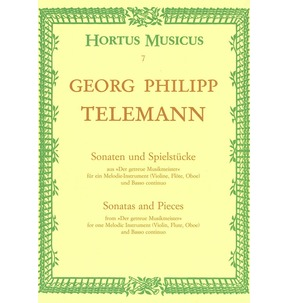 Telemann Sonatas and Pieces from