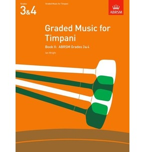 ABRSM Graded Music for Timpani Book 2 - Grades 3 & 4