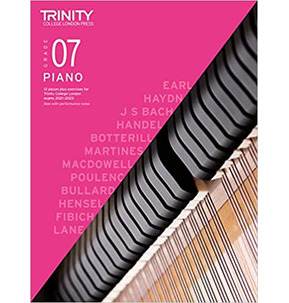 Trinity Piano Exam Pieces and Exercises 2021-2023 - Grade 7