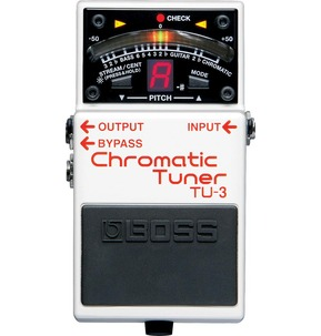 Boss TU-3 Compact Chromatic Guitar Tuner Pedal