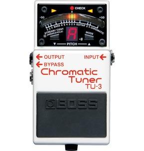 Boss TU-3 Compact Chromatic Guitar Tuner Pedal