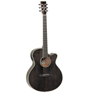 Tanglewood Winterleaf TW4 E BS Super Folk Black Shadow Electro Acoustic Guitar