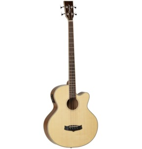 Tanglewood Winterleaf TW8 E AB Electro Acoustic Bass Guitar