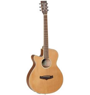 Tanglewood Winterleaf TW9 E LH Super Folk Natural Left-Handed Electro Acoustic Guitar