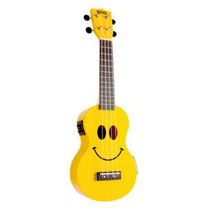 Mahalo 2211SMI Smile Series Electro Ukulele - Yellow