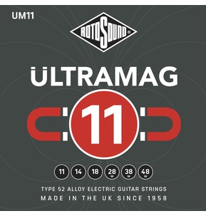 Rotosound UM11 ULTRAMAG 11-48w Type 52 Alloy Electric Guitar Strings