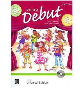 Viola Debut - Pupil's book plus CD (James Rae)
