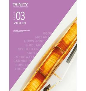 Trinity College London: Violin Exam Pieces 2020-2023 - Grade 3 Score and Part