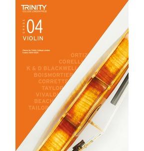 Trinity College London: Violin Exam Pieces 2020-2023 - Grade 4 Score and Part