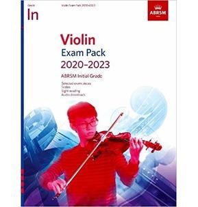 ABRSM Violin Exam Pack 2020-2023 - Initial Grade