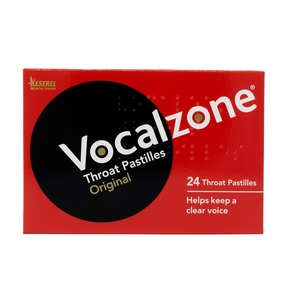 Vocalzone Throat Pastilles - Pack of 24